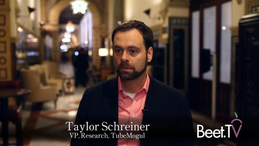 Algorithms Will Revolutionize Audience Targeting: TubeMogul's Schreiner