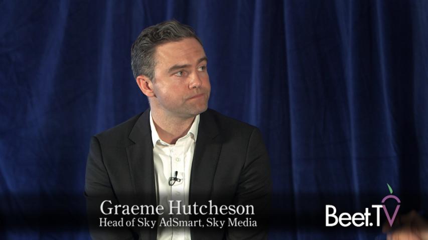 Sky Has Served Three Billion Addressable TV Ads