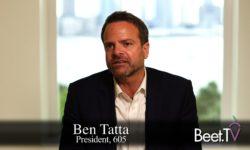 605's Tatta Goes 'Full-Funnel' On TV Ad Measurement