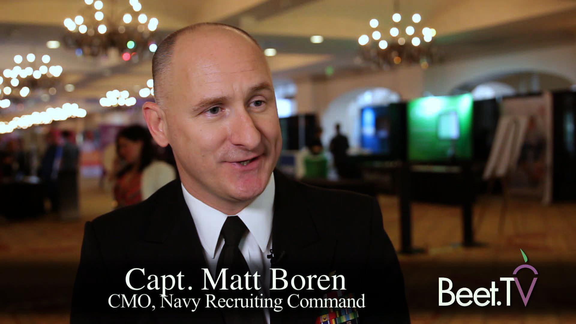 Seeking Centennial Recruits, U S  Navy Spends 70% Of Budget