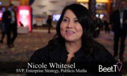 For Media Buyers, 2019 OTT Means Taking Risks & Streamlining: Publicis Media's Whitesel