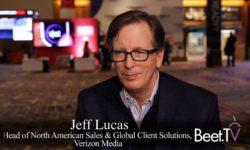 Scale & Telco Ties Help Challenge Google: Verizon Media Group's Lucas