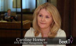 Addressable TV Hitting Scale: 605's Horner