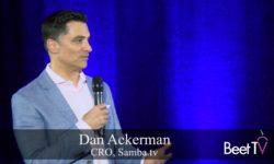 Commmonality Is Key: Samba TV's Ackerman