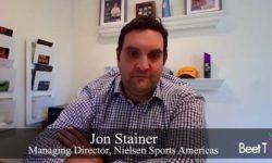 Sports Sponsors Can Thrive in Hybrid Media World: Nielsen's Jon Stainer