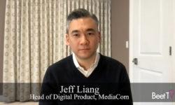 Mobile Data Enable Audience Targeting on CTV: MediaCom's Jeff Liang