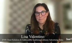 Valentino On Disney's Diverse Digital Ad Future