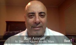 AI Has Bigger Role In Media Investment: Mars's Ron Amram